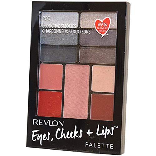 (Revlon Eyes Cheeks & Lips Palette, 200 Seductive Smokies, ( Pack of 2) )