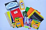 Back To School Elementary Essential Bundle including CRAYOLA Crayon Pencils Markers