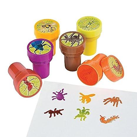 6 x la Insectos sellos kinderstempel Insectos sellos Cumpleaños ...