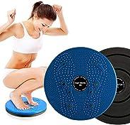 DAYFULI Waist Twister Body Shaping Body Board Wriggling Plate Twist Waist Torsion Disc Board Aerobic Magnet Fe