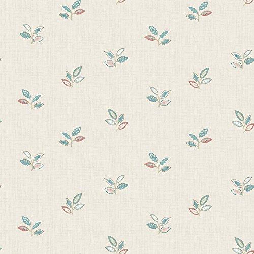Chesapeake 3112-002738 Leigh Coral Leaf Wallpaper Leigh L...
