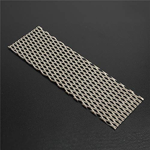 Wchaoen Pantalla de filtro de malla de titanio puro de 50 mm x 165 mm para electr/ólisis Accesorios para herramientas