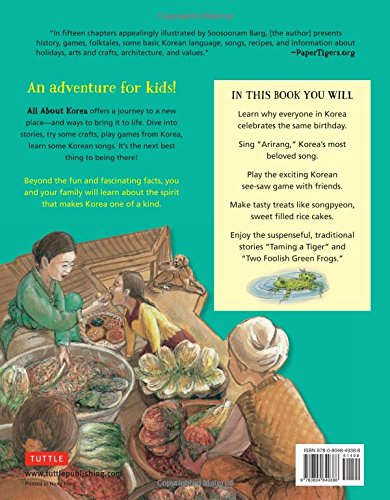 All About Korea: Stories, Songs, Crafts and Games for Kids by Tuttle Publishing (Image #2)
