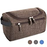 Double Ss Hanging Travel Toiletry Bag for Men and Women Waterproof Cosmetic Organizer For Make UP Dopp Kit Shower Bag with Sturdy Hook