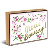 Sweet Floral Natural Boxed Cards
