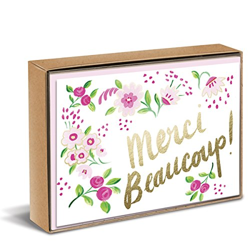 Sweet Floral Natural Boxed - You Card Thank Epic
