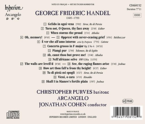Handel: Finest Arias for Base Voice Vol.2 by HYPERION (Image #1)