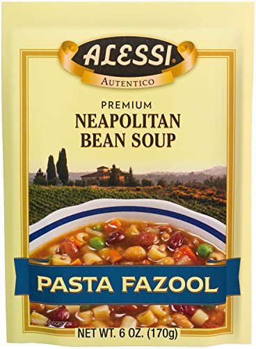 Alessi Pasta Fazool Soup, 6-Ounce Packages (Pack of 6) ()