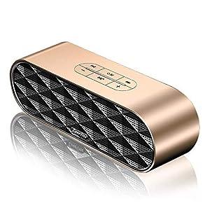 ZoeeTree S3 Enceinte Bluetooth portable, Bluetooth 4.2 EDR, avec Son 360°, 10W Haut Parleur Stéréo avec Audio Haute Définition et Basse Améliorée, Mains Libres Appel TF Carte Slot 7