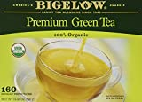 Bigelow Premium Green Tea 100% Organic, 160 Count