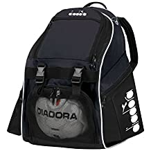 Diadora Squadra II Soccer Backpack (Black)