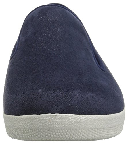 Fitflop Womens Superskate Fannullone Flat Midnight Navy