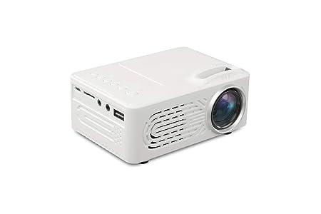 Mini Proyector, Soporte 1080 HD LED Projector Puede Leer Disco U ...