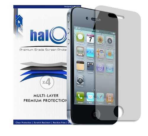 Halo Screen Protectors for iPhone 4S