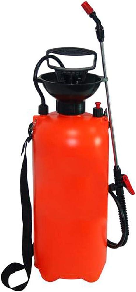 RZ TOOLS Pulverizador Fumigador a Presión Mochila 8 litros Manual con Lanza para Limpieza, Jardín y Hogar - Correa Ajustable: Amazon.es: Hogar