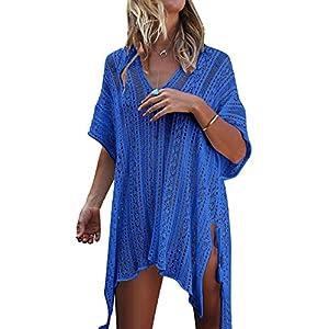 Tuopuda Mujer Pareos Playa Traje de Baño Vestido de la Playa Bikini Cover up Camisola de Playa | DeHippies.com