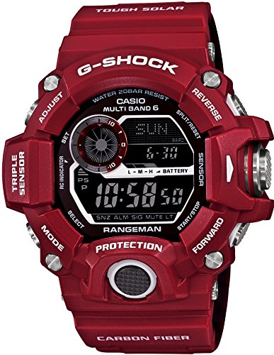 G-Shock GW-9400RD-4 Red Series Rangeman