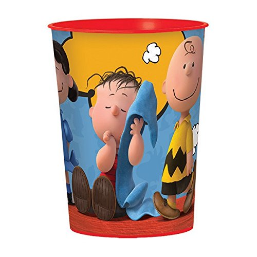Ideas Costume Snoopy (Classic Peanuts Birthday Party Favour Cup , Plastic , 16)