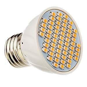 Ledtcx E27 60x3528SMD 3000K Warm White Light LED Spot Bulb (12V)