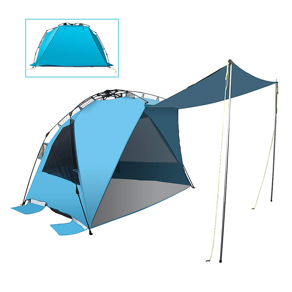 best beach canopy Mounchain Beach Tent 2 Support Poles