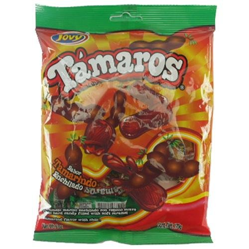 Pack of 3 Jovy Tamaros Mexican Tamarind Candy 6oz Bags