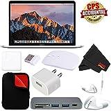 Apple 15 MacBook Pro, Retina, Touch Bar, 2.9GHz Intel Core i7 Quad Core (MPTV2LL/A) + MicroFiber Cloth + 2.4 GHz Slim Optical Wireless Bluetooth + Padded Case For Macbook Bundle