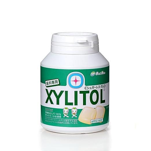【歯科専用】キシリトールガム ボトルタイプ90粒(アップルミント)