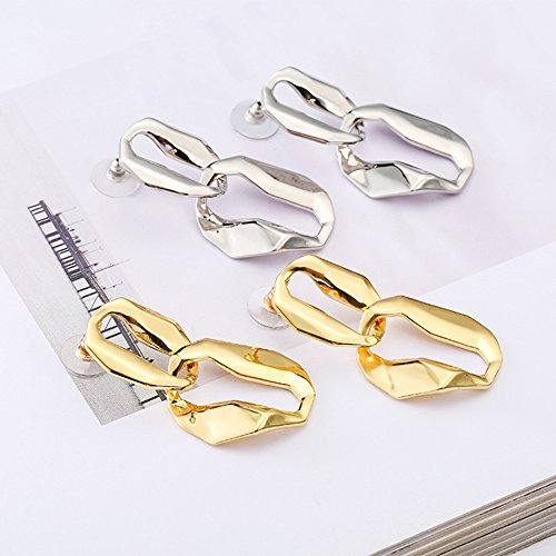 Sliver Jewelry Wedding Design Party Fashion with for Drop Celebration Vintage Earrings Novelty q4PggS