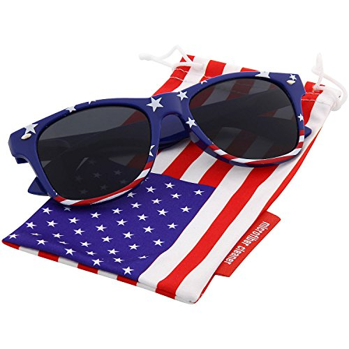 grinderPUNCH American Flag Sunglasses Classic - American Sun Flag Glasses