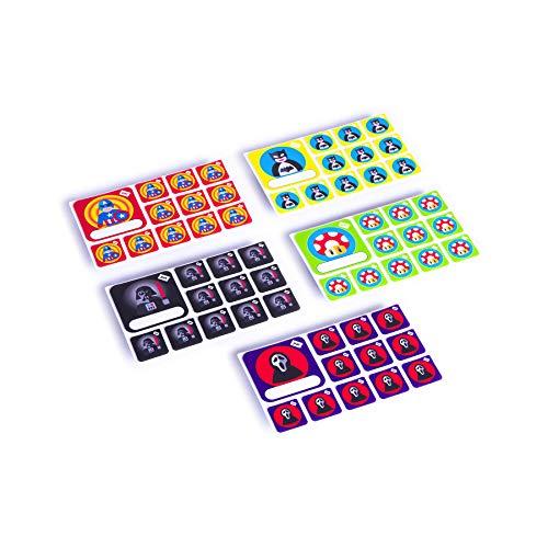 PATboard Scrum Board and Kanban Board Team Icon Set - Superhero - Set of 5 ()