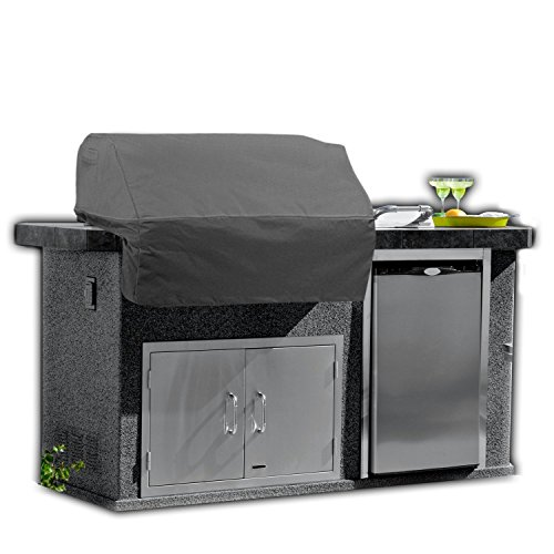 bbq island cover with side burner - 5