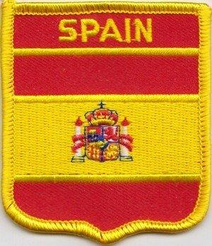 De la bandera de España parche escudo del Real Mallorca