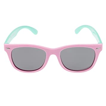 W-top Gafas de sol polarizadas para Niños Moda Super Flexible, Seguridad UV 400