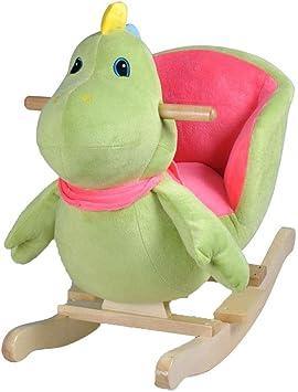 Wakects Schaukeltier Schaukelpferd Schaukelstuhl Carton Design Schaukel Spielzeug L/öwe ab 12 Monaten f/ür Jungen und M/ädchen Maximal Belastbar bis 25Kg