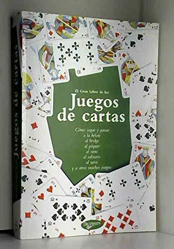 El gran libro de los juegos de cartas: 9788431535766: Amazon ...