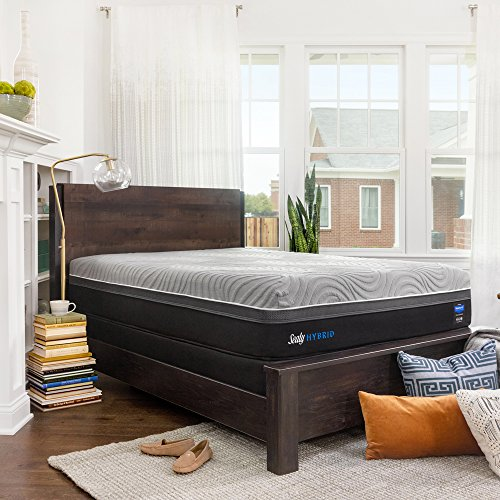Sealy Posturepedic Hybrid Performance Copper 13.5-Inch Firm Cooling Mattress, Queen, Made in USA,  10 Year Warranty