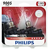 Image of Philips 9005 X-tremeVision Upgrade Headlight Bulb, 2 Pack