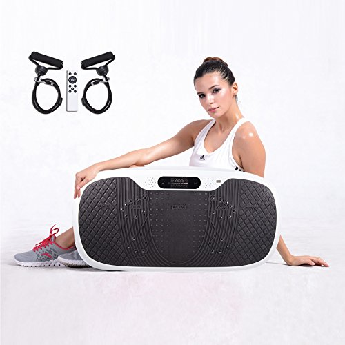 pinty full body vibration platform fitness vibration machine with mp3 player 3 standing. Black Bedroom Furniture Sets. Home Design Ideas