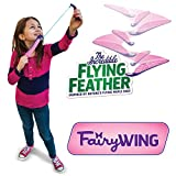 """The Incredible Flying Feather """"Fairy Wing"""" with Bungee Launcher"""