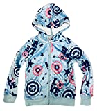 #2: Captain America Marvel Avengers Girls' Love Fleecy Minky Hooded Sweatshirt