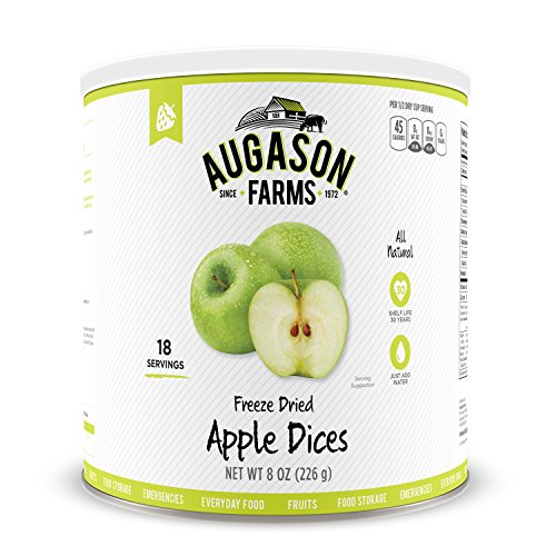 (Augason Farms Freeze Dried Apple Dices 8 oz No. 10 Can)