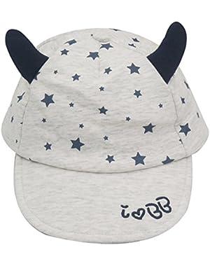 Unisex Baby Toddler Star Baseball Cap Sun Hat Snapback Hat Visor