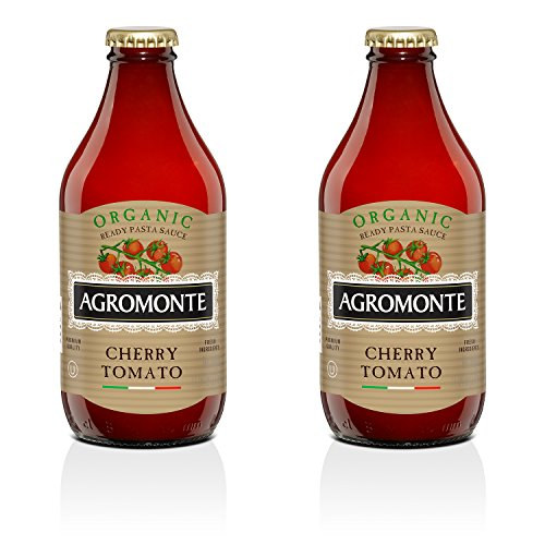 Agromonte Authentic Italian Cherry Tomato Sauce (Organic, 2 Pack 11.64 Oz)