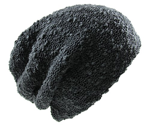 RW Men's Slouchy Beanie One Size Charcoal Gray