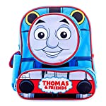 "Thomas Backpack 12"" Thomas the Toy Train All New Cool Engine Design with 1 Emoji Gift"