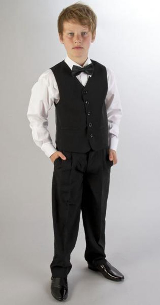 MLT Boy's Wedding Suits Three Pieces Party Prom Tuexdos (2S) by MLT (Image #4)