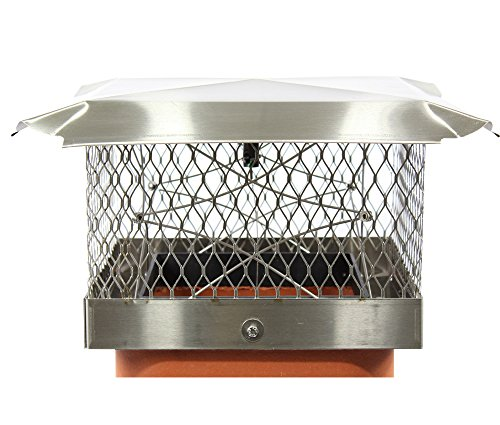 Lindemann Chimney Top Damper Plus By US Fireplace Products (13 x (Top Seal Chimney Cap Damper)