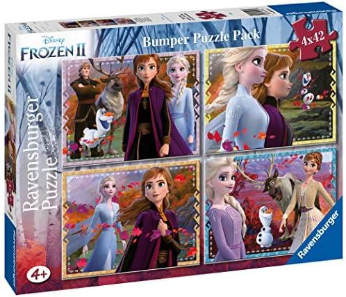 Ravensburger Frozen 2 Puzzle 4x42 Bumper Pack, 05023: Amazon.es ...