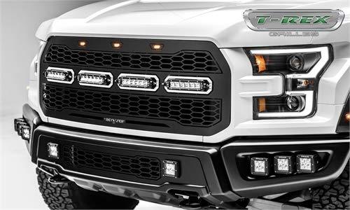 - T-Rex Grilles 6515661 Black Revolver Grille (Ford F150 Raptor)