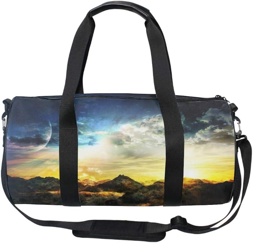 Art Bird Painting Gym Duffle Bag Drum tote Fitness Shoulder Handbag Messenger Bags